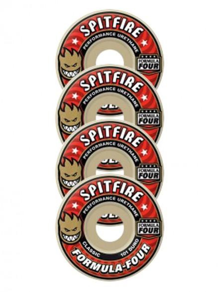 Ruedas Skate Spitfire Formula Four 101d Clsc 51mm