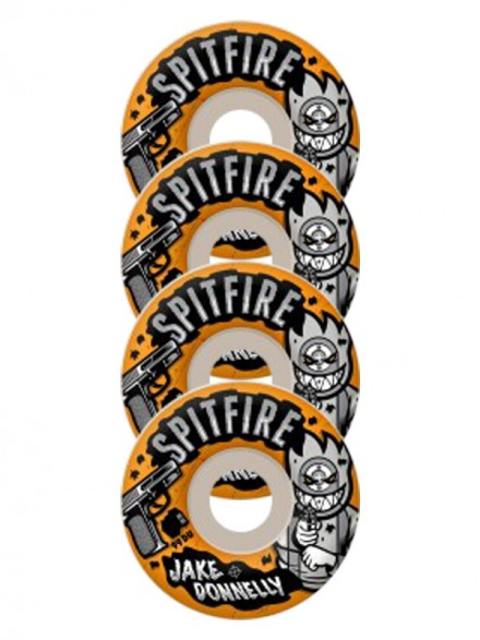 Ruedas Skate Spitfire Donnelly Sure Shot 52mm