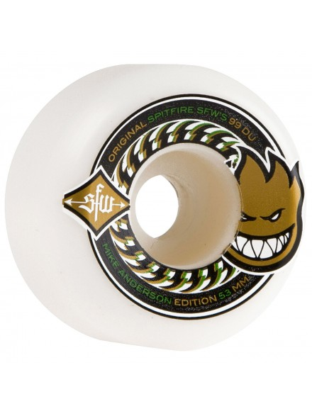 Ruedas Skate Spitfire Anderson Sfw 2 Wht 53mm