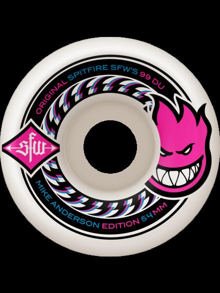 Ruedas Skate Spitfire Anderson Sfw 2 Wht 54mm