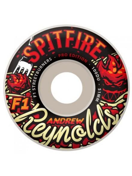 Ruedas Skate Spitfire F1 Sb Reynolds Aderci Wht 52mm