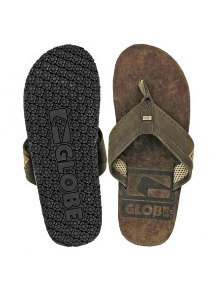 Sandalias Globe Base Chocolate/Tan