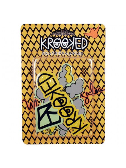 Sticker Krooked Dragon Pack