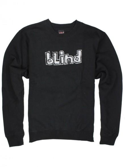 Sudadera Blind Jersey Og Crew Black