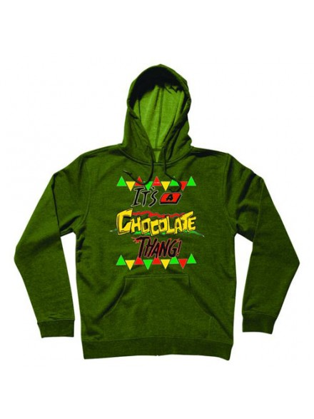Sudadera Chocolate Its A Choc Hunter Grren