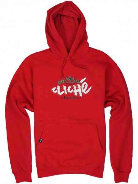 Sudadera Cliché Export Red
