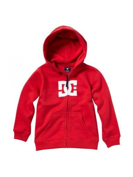 Sudadera Dc Zip Star Ath/Red