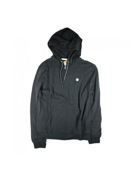 Sudadera Element Cornell Zip Blk