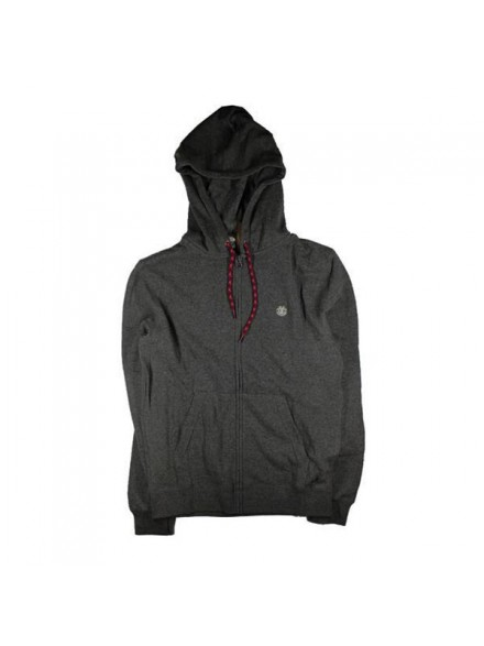 Sudadera Element Cornell Zip Cha Htr
