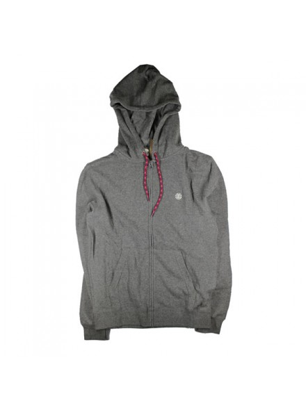 Sudadera Element Cornell Zip Gry Htr