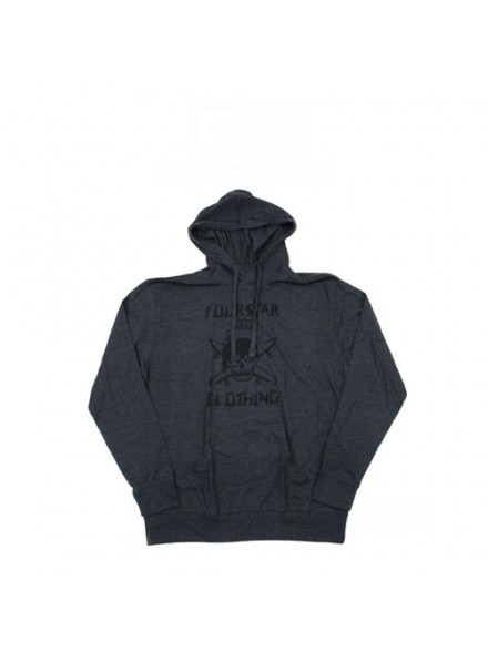 Sudadera Fourstar Venice Charcoal Heather