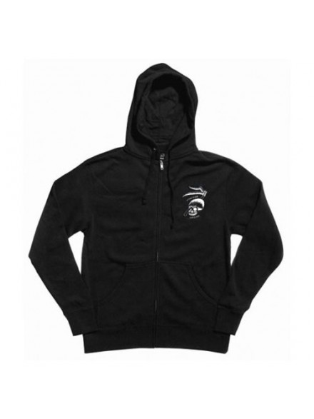 Sudadera Lakai Whatever Zip Blk