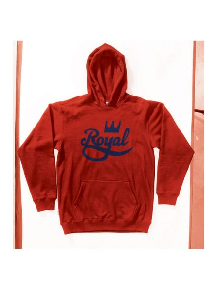 Sudadera Royal Classic Hood Red