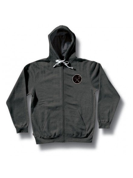 Sudadera Royal Smoke Zip Charcoal