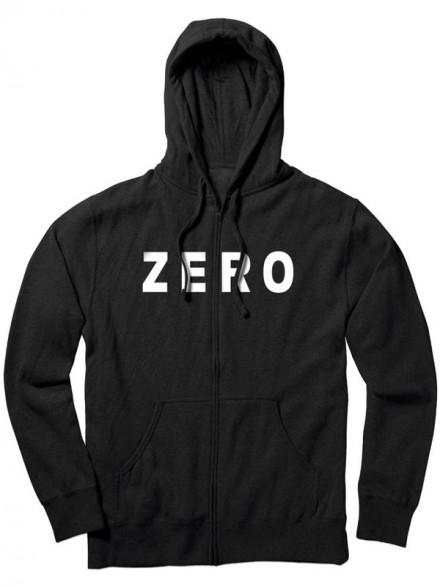 Sudadera Zero Army Zip Black
