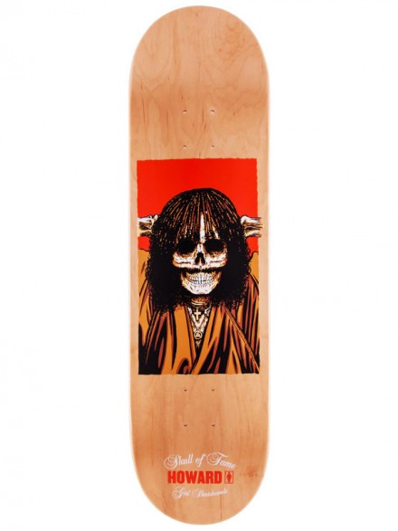 Tabla Girl Skull Of Fame Howard 8.375