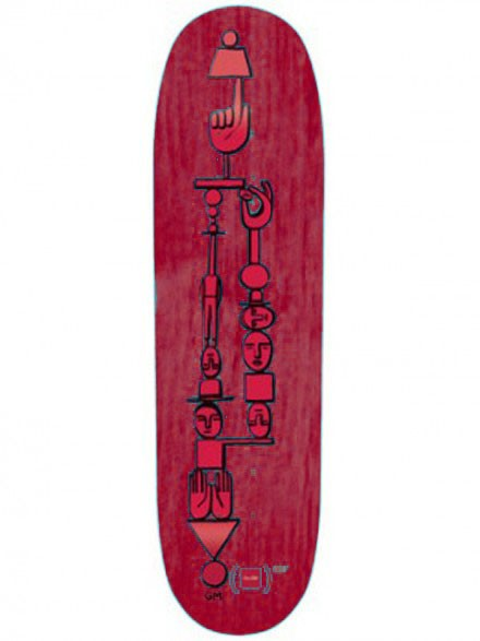 Tabla Skate Chocolate Anderson Red Red 8.125