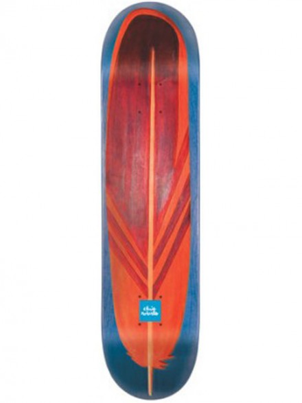 Tabla Skate Chocolate Roberts Hand Carve Blu 7.875