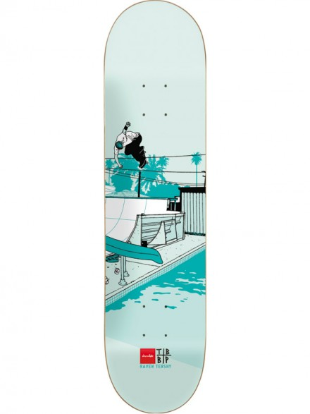 Tabla Skate Chocolate Tershy Trunk Mansion 8.375