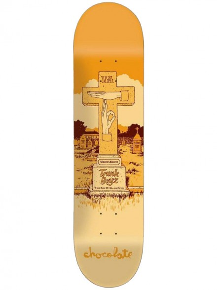 Tabla Skate Chocolate Tombstone Alvarez 8.25
