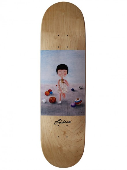 Tabla Skate Ludica Niña 8.5