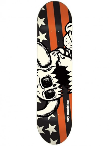 Tabla Skate Toy Machine Vice Stripes Dead Mon 8.125