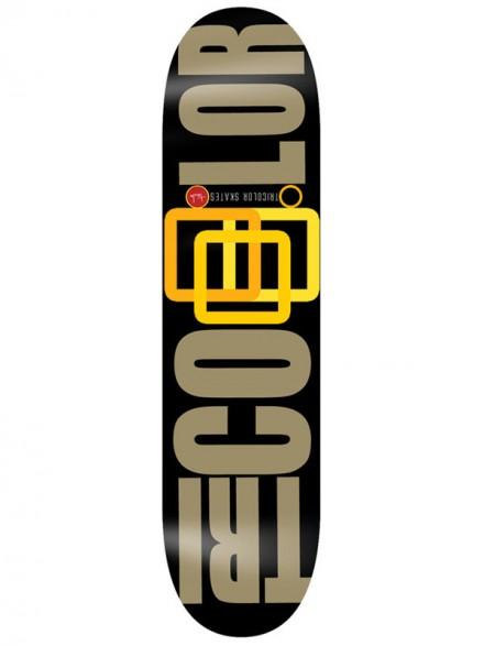 Tabla Skate Tricolor Skates Gold Ed 8.125