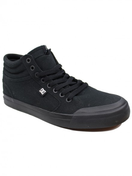 Tenis Dc Evan Smith Hi Black Black Gum