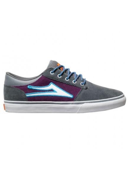 Tenis Skate Lakai Brea Gry/Purple Suede