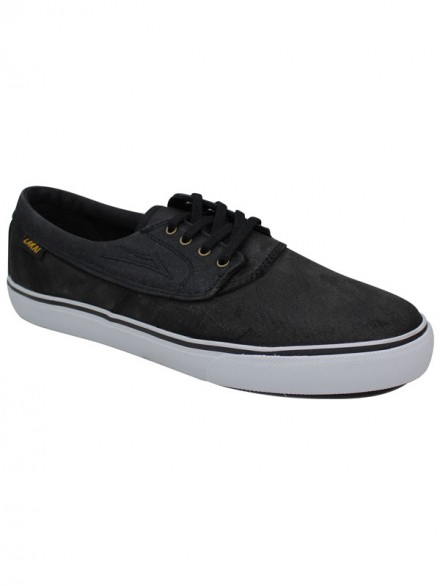 Tenis Lakai Camby Black Oiled Suede