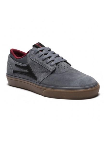 Tenis Skate Lakai Griffin/Chocolate Grey Gum Suede