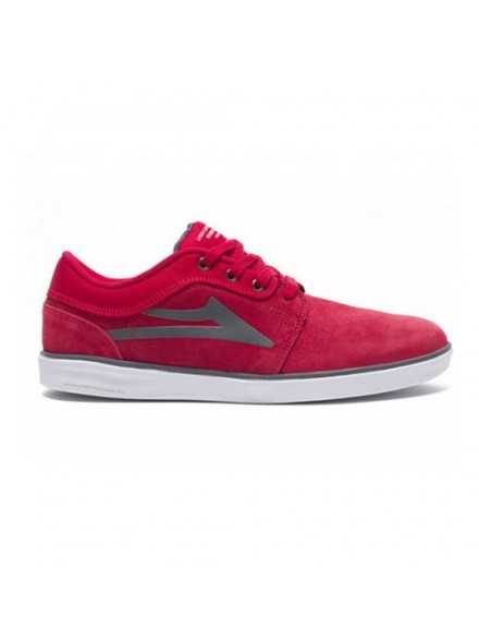 Tenis Skate Lakai Howard Red Suede
