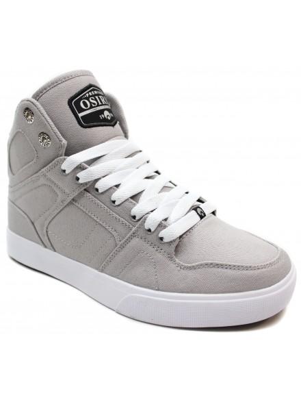 Tenis Osiris NYC 83 Vulc Dnc Grey White Silver