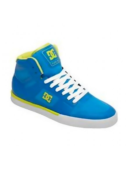 Tenis Skate Dc Pure Ns Hi Bright Blue
