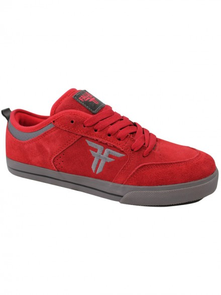 Tenis Skate Fallen Clipper Blood Red Pewter Gry