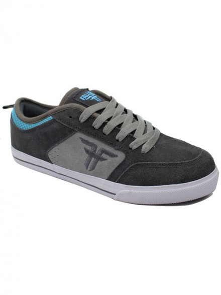 Tenis Skate Fallen Clipper Pewter Gry Cmt Gry