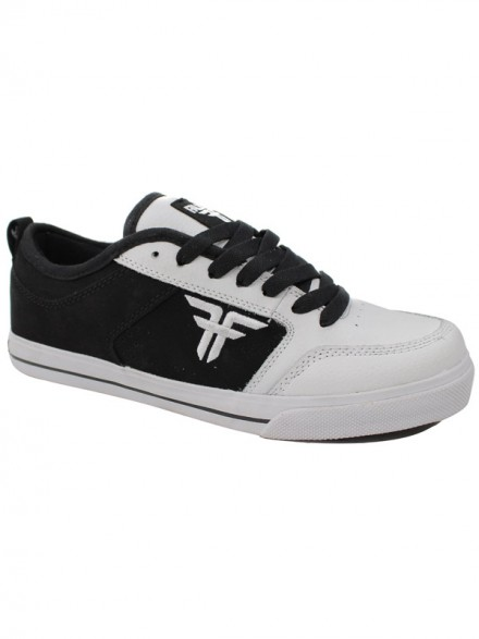 Tenis Skate Fallen Clipper Se White/Black/White
