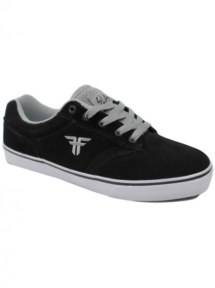 Tenis Skate Fallen Slash Black/Cement Grey