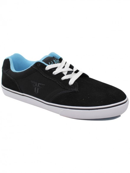 Tenis Skate Fallen Slash Black Cosmic Blue