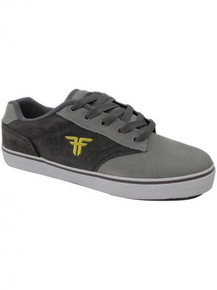 Tenis Skate Fallen Slash Midnight Cement Grey/Gunmetal
