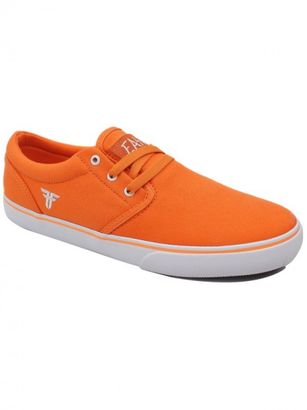 Tenis Skate Fallen The Easy Bright Orange Wht