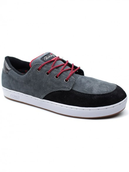Tenis Skate Lakai Brandy Belmont Xlk Black/Grey