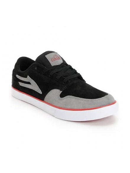 Tenis Skate Lakai Carroll 5 Black/Grey Suede
