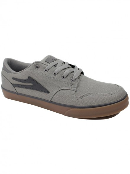 Tenis Skate Lakai Carroll 5 Grey Gum Canvas