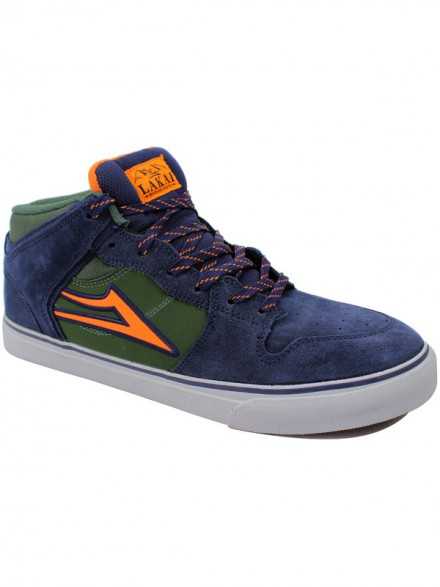 Tenis Skate Lakai Carroll Select All Weather Navy Aw Suede