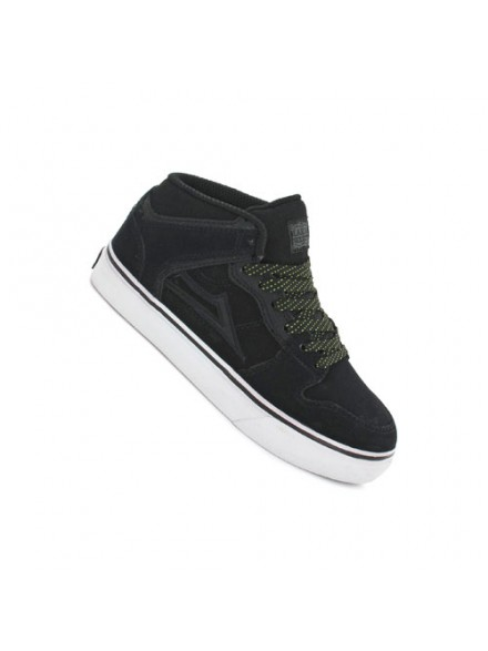 Tenis Skate Lakai Kids Carroll Select Black Suede All Weather