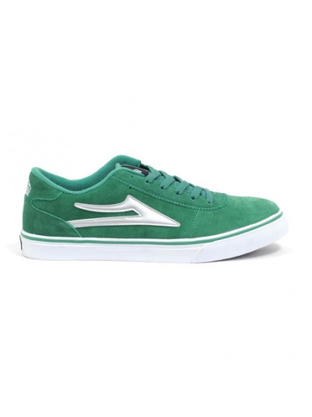 Tenis Skate Lakai Manchester Green Suede