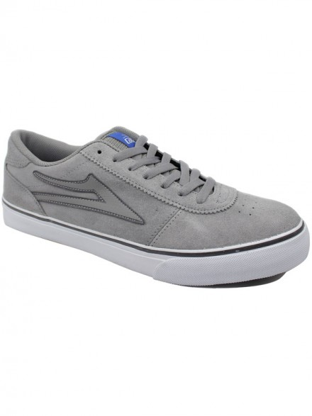 Tenis Skate Lakai Manchester Select Grey Suede