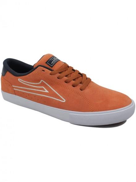 Tenis Skate Lakai Mariano Orange Suede