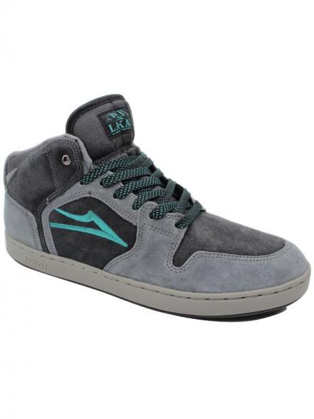 Tenis Skate Lakai Telford Xlk Grey/Black Aw Suede